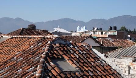 San Cristobal de Las Casas - Vue depuis notre terrasse