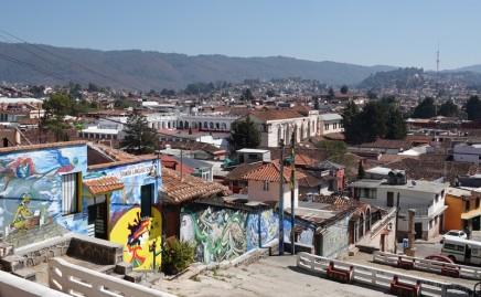 San Cristobal de Las Casas - Montée au Cerro San Cristobal