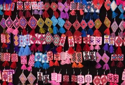 San Cristobal de Las Casas - Jolies boucles d'oreille