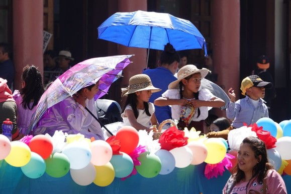San Cristobal de Las Casas - Procession enfantine