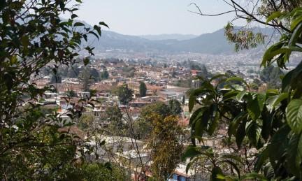 San Cristobal de Las Casas - Vue depuis le Cerro de Guadalupe