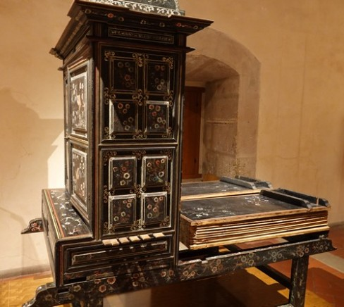 "Oaxaca - Museo de las Culturas (Santo Domingo) - Vieux ""piano"" à soufflet"