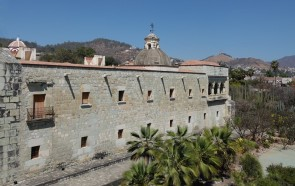Oaxaca - Vue depuis le Museo de las Culturas (Santo Domingo)