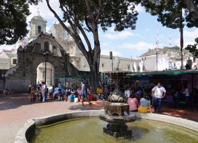 Oaxaca - Vers la Basilique de la Soledad