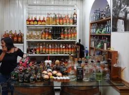 Oaxaca - Marché - Alcools locaux