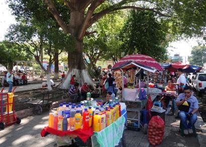 Santa Ana - Non loin de l'Eglise El Calvario