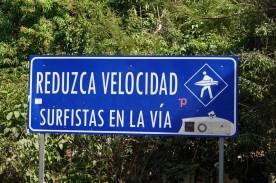 Sur la route, entre El Sunzal et El Tunco