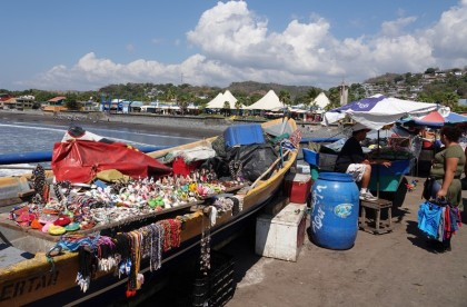 Puerto de la Libertad - Sur le muelle