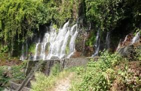 Route des Fleurs - Non loin de Juayu, Los Chorros de Calera