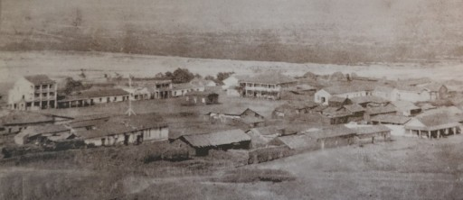 Old Town San Diego - Photo du village en 1868