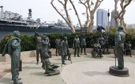 San Diego - Hommage à Bob Hope et aux militaires