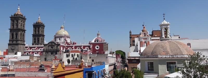 Puebla, la cité des Anges des colonsespagnols