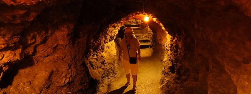 Dans les profondeurs de la mine de la Valenciana, non loin deGuanajuato