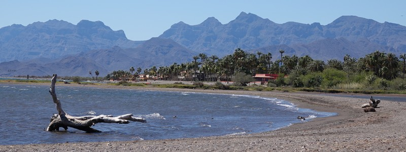 Loreto, une petite ville très tranquille au bord de la mer deCortés