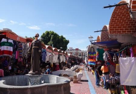 Puebla - Quartier des Artistes et marché artisanal