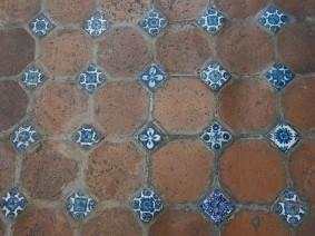 Puebla - Bibliothèque Palafoxiana - Même le sol est superbe !