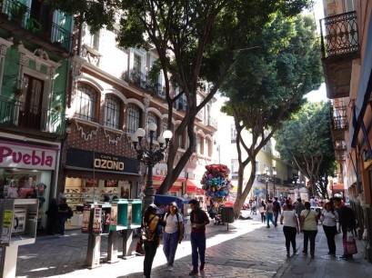 Puebla - Vers le Zocalo