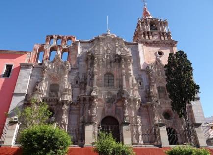 Guanajuato - Iglesia de la Compania de Jesus