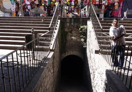 Guanajuato - Entrée du tunnel