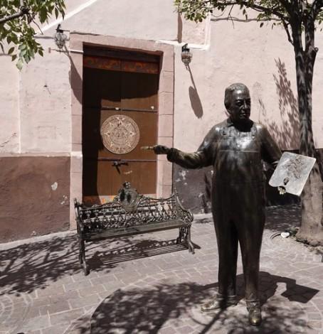 Guanajuato - Vers la maison natale de Diego Riveira