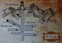 Valenciana - Bocamina de San Ramon - Plan de la mine