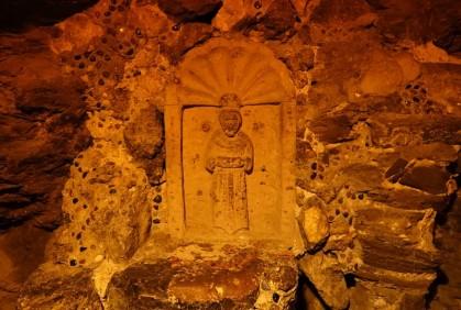 Valenciana - Bocamina de San Ramon - Petite statue protectrice