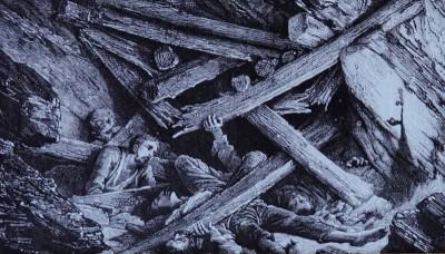 Valenciana - Bocamina de San Ramon - Les dangers de la mine : enfouissement