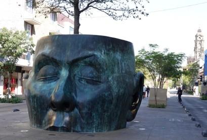 Guadalajara - Non loin de la Rotonda de los Jaliscenses Ilustres
