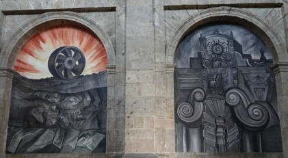 Guadalajara - Instituto Cultural Cabanas - Fresque de José Clemente Orozco