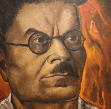 Guadalajara - Instituto Cultural Cabanas - Fresque de José Clemente Orozco vu par Roberto Montenegro