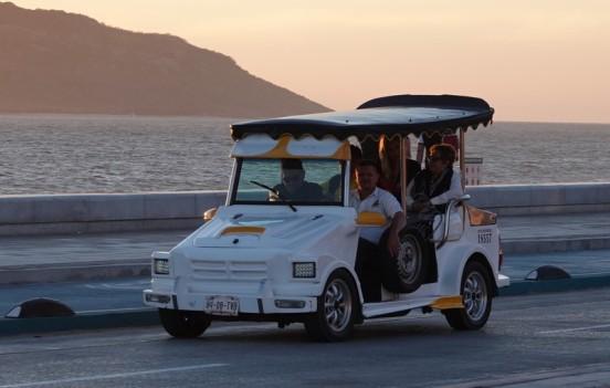 Mazatlan - Taxi décapotable