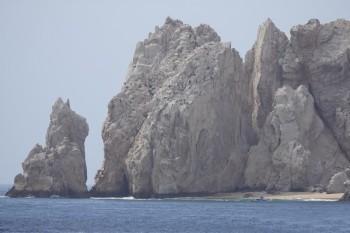 Cabo San Lucas - Vue depuis la plage de Médano