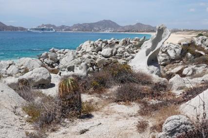 Cabo San Lucas - Plage de Médano, partie rocheuse