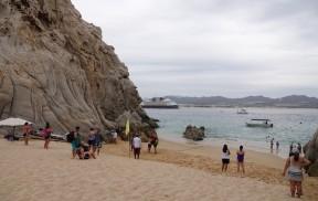 Cabo San Lucas - Divorce Beach - Débarcadère des bateaux taxis