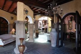 Loreto - Intérieur d'un hôtel de charme