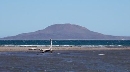 Loreto - Estuaire - Vue sur l'ile Coronado où on doit aller demain...