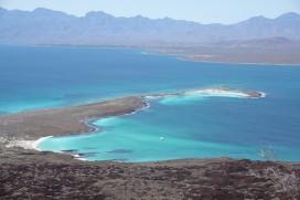 Loreto - Excursion sur l'ile Coronado - Vue depuis le sommet du volcan