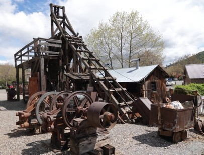 Mariposa Museum and History Center - Marteau pilon