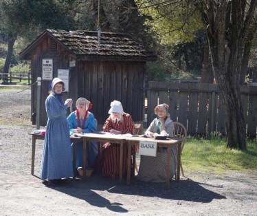 Columbia State Historic Park - Accueil en costumes d'époque !