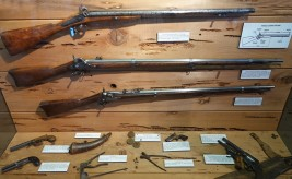 Columbia State Historic Park - Fusils et pistolets indispensables à l'époque !