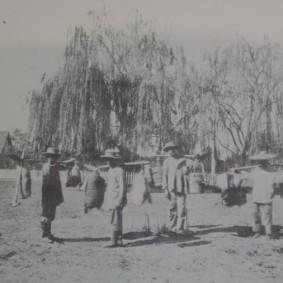 Columbia State Historic Park - Les entreprises minières allaient de la main d'oeuvre chinoise dans la région de Canton, essentiellement masculine, pour effectuer les travaux les plus durs... Ces hommes surexploités se retrouvèrent vite au ban de la société...