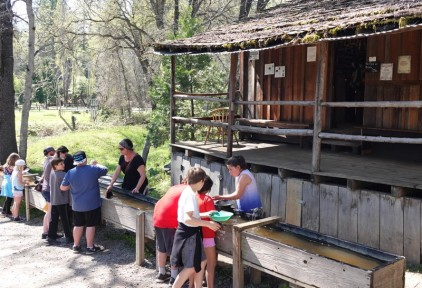 Columbia State Historic Park - Atelier orpaillage !
