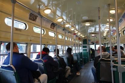 San Francisco -Dans le tram...