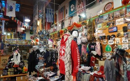 San Francisco - Une des nombreuses boutiques de souvenirs non loin de Fisherman's Wharf
