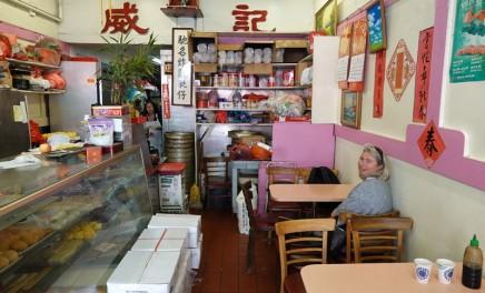 San Francisco - Chinatown - Petit resto tout simple...