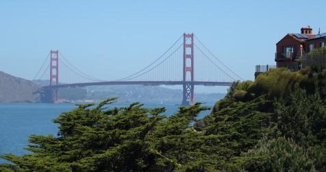 San Francisco - Balade à pied sur le coastal trail