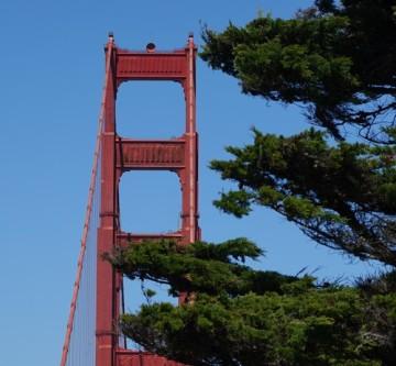 San Francisco - Balade à pied sur le coastal trail - Golden Gate Bridge