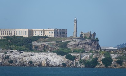 San Francisco - Balade à pied sur le coastal trail - Alcatraz
