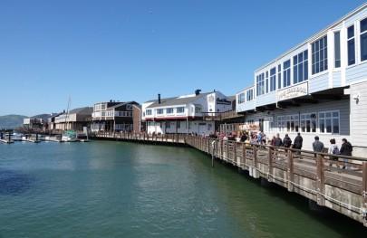 San Francisco - Balade à pied sur le coastal trail - Pier 39