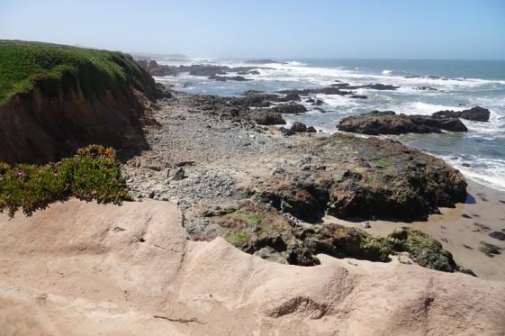 Entre Half Moon Bay et Monterey